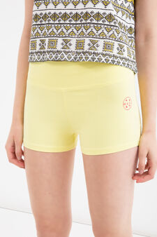 Maui and Sons stretch cotton shorts, Yellow, hi-res