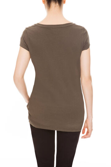 T-shirt con stampa, Army Green, hi-res