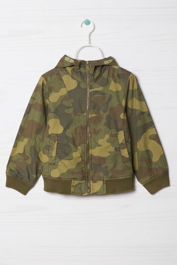 Jacket with camouflage pattern