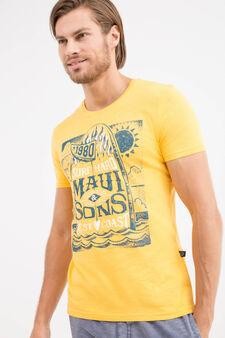T-shirt con stampa Maui and Sons, Arancione, hi-res