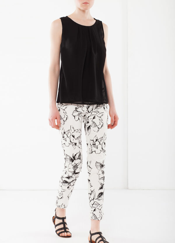 Pantaloni capri stretch   OVS