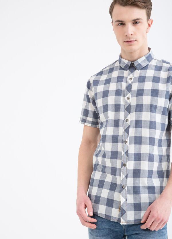 G&H 100% cotton check shirt | OVS