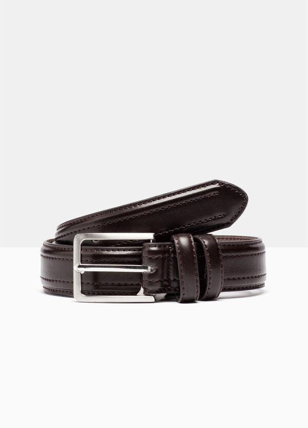 Skinny belt with stitching | OVS
