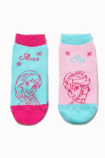 Two-pair pack Frozen slipper socks
