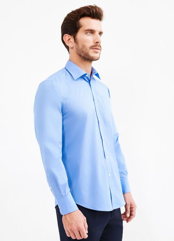 Camicia formale regular fit misto cotone | OVS