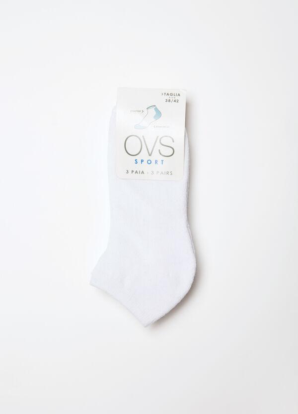 Set tre paia di calze misto cotone   OVS
