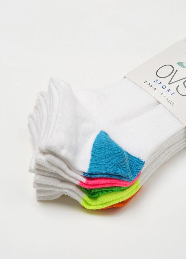 Set cinque calze corte stretch   OVS