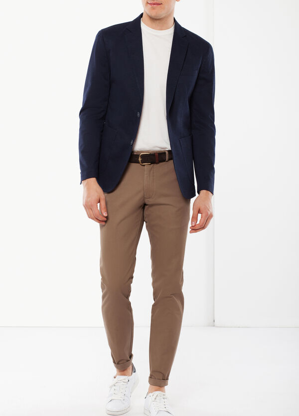 Solid color classic trousers   OVS