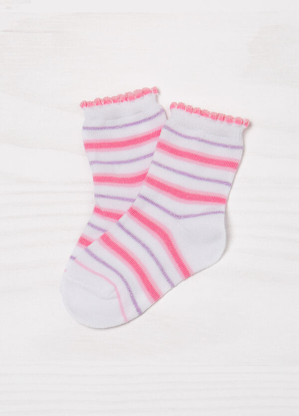 Two-pair pack patterned socks | OVS
