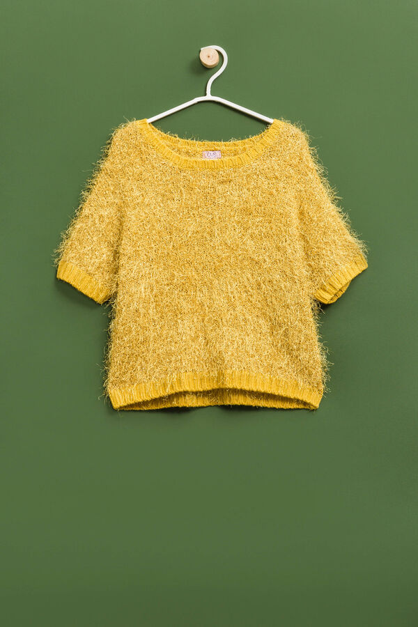Knitted short-sleeved pullover | OVS