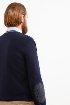 Cashmere blend Rumford pullover, Navy Blue, hi-res