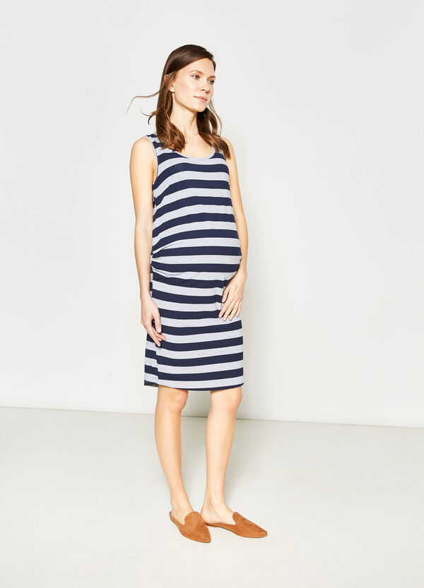 Sleeveless cotton MUM dress | OVS