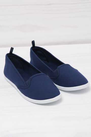 Slip-on tinta unita, Blu navy, hi-res