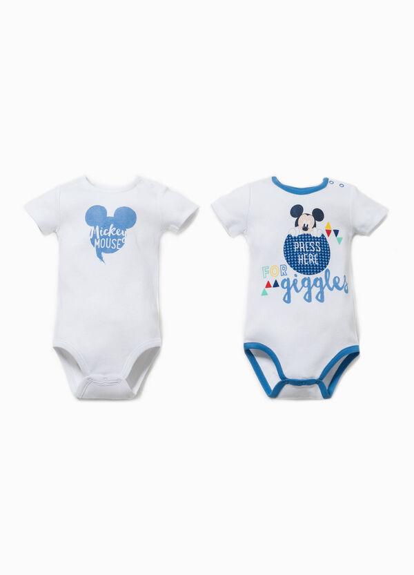 Set due body maniche corte Mickey Mouse | OVS