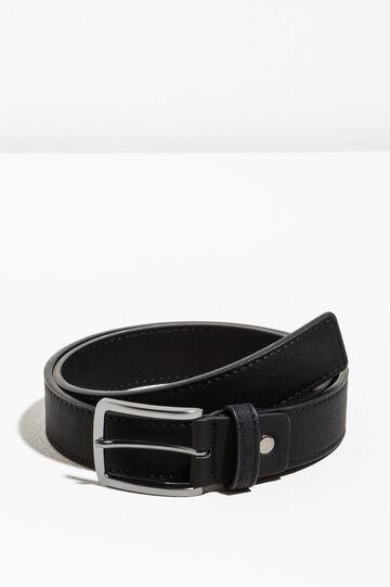 Cintura con fibbia rettangolare