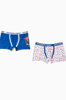 Set due boxer stretch Spiderman, Blu royal, hi-res