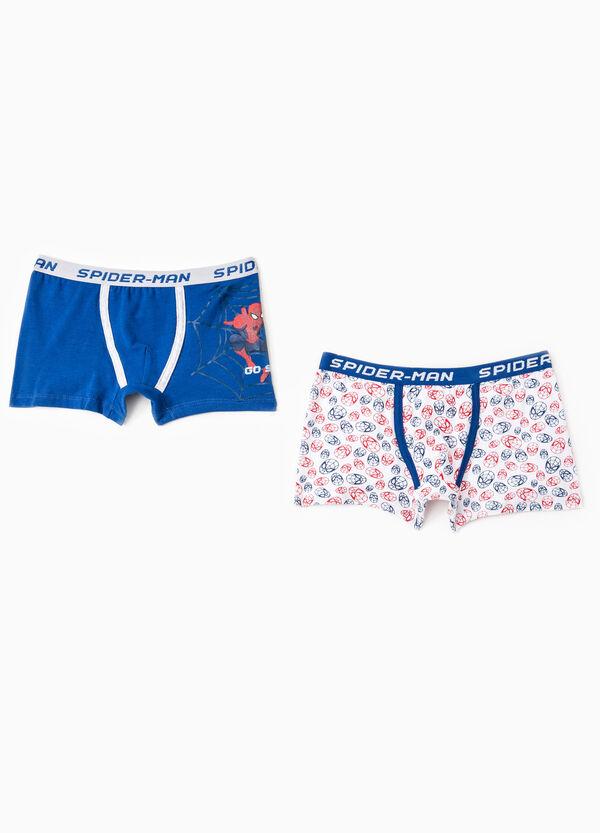 Set due boxer stretch Spiderman | OVS