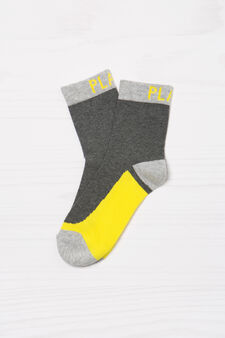 Three-pack stretch socks, Multicolour, hi-res