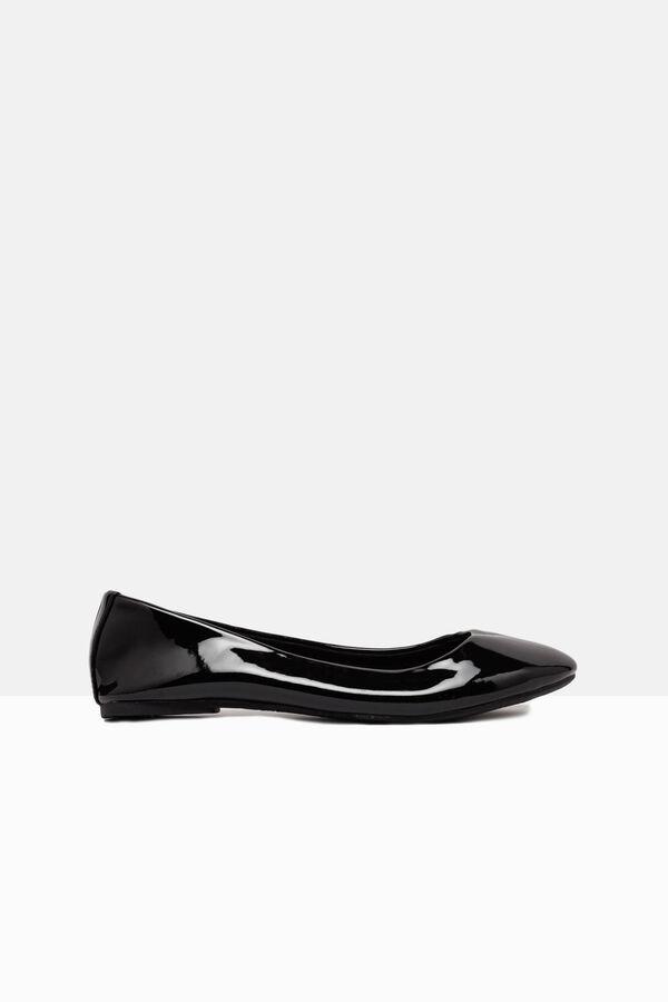 Patent ballerina flats | OVS