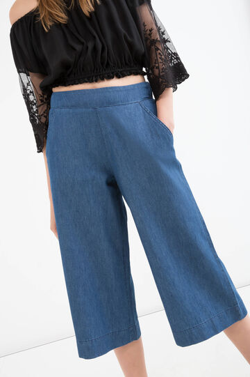High waist jeans with pockets, Medium Wash, hi-res