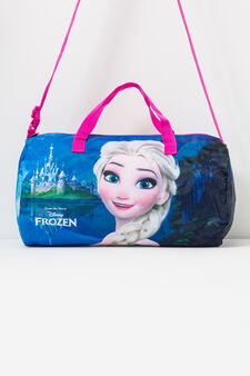 Frozen print cross body bag, Fuchsia, hi-res