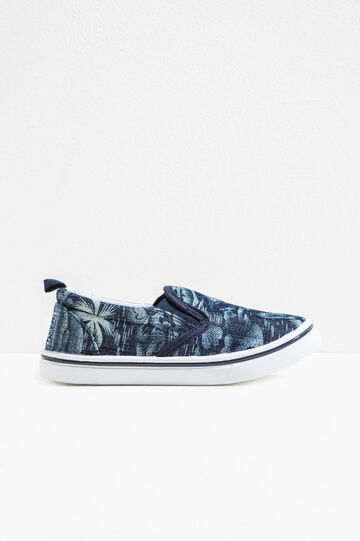 Slip-on fantasia con tomaia in tela
