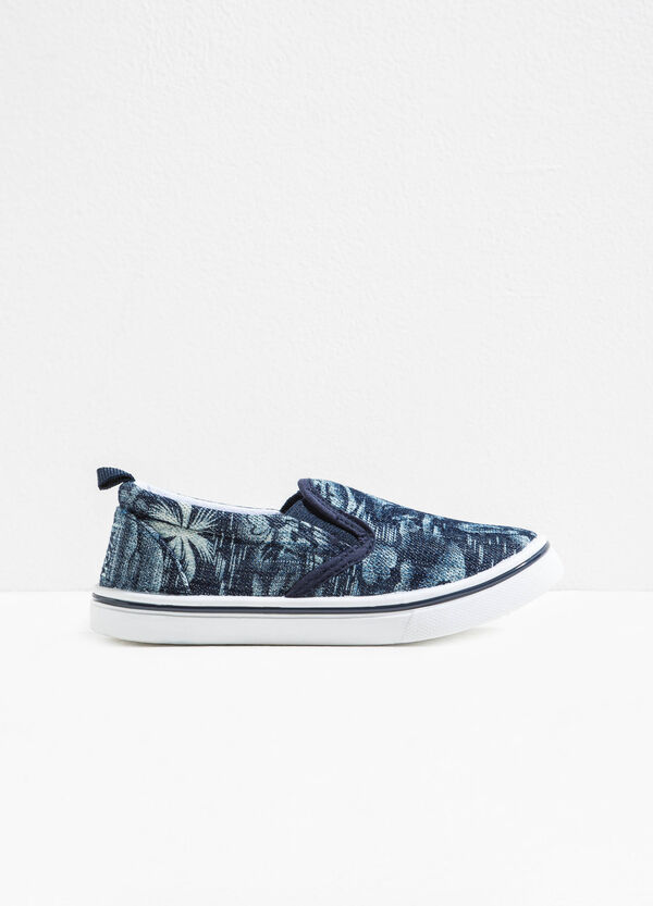 Slip-on fantasia con tomaia in tela | OVS