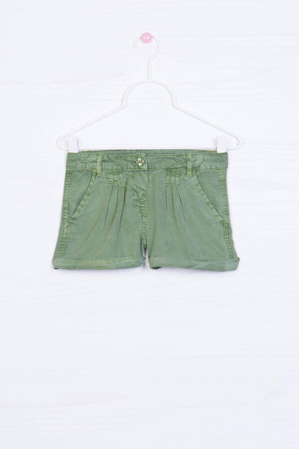 Shorts pura viscosa tinta unita | OVS