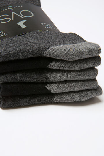 Set cinque paia di calze corte