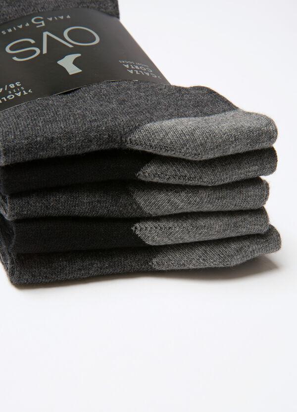 Set cinque paia di calze corte   OVS
