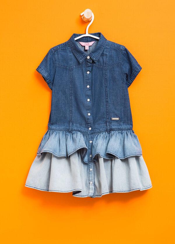 Degradé-effect denim dress | OVS