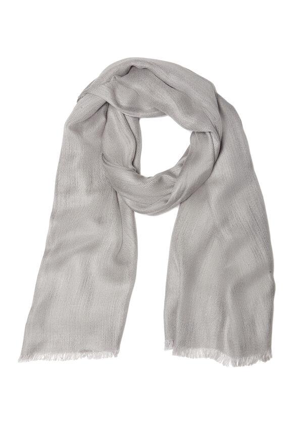 Plain viscose blend scarf | OVS