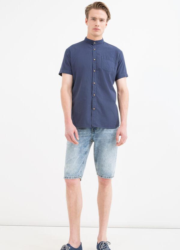 Camicia puro cotone alla coreana | OVS