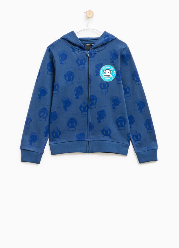 Cotton hoodie with Paul Frank print | OVS