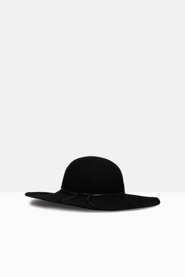 Wool hat with wide brim | OVS