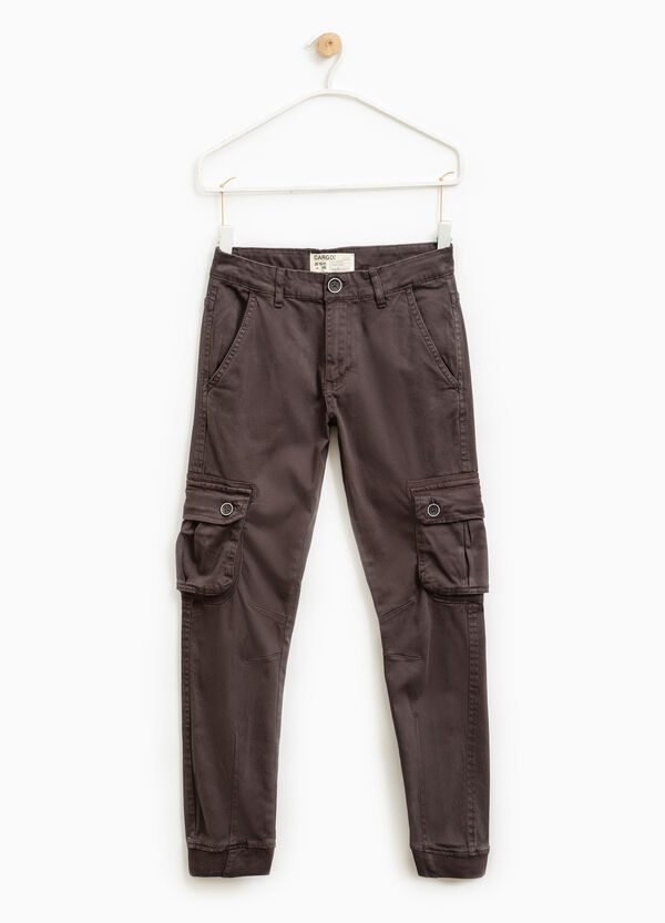 Cargo-cut chino trousers | OVS