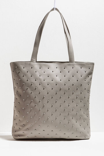 Shopping bag with beads