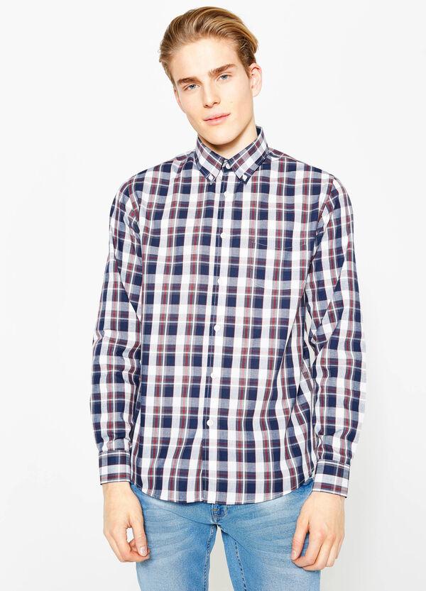 Camisa regular fit de cuadros | OVS