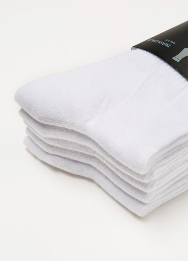 Five-pair pack cotton socks | OVS