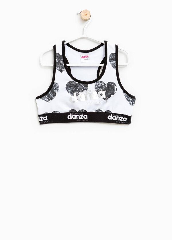 Top crop stampato Dimensione Danza | OVS