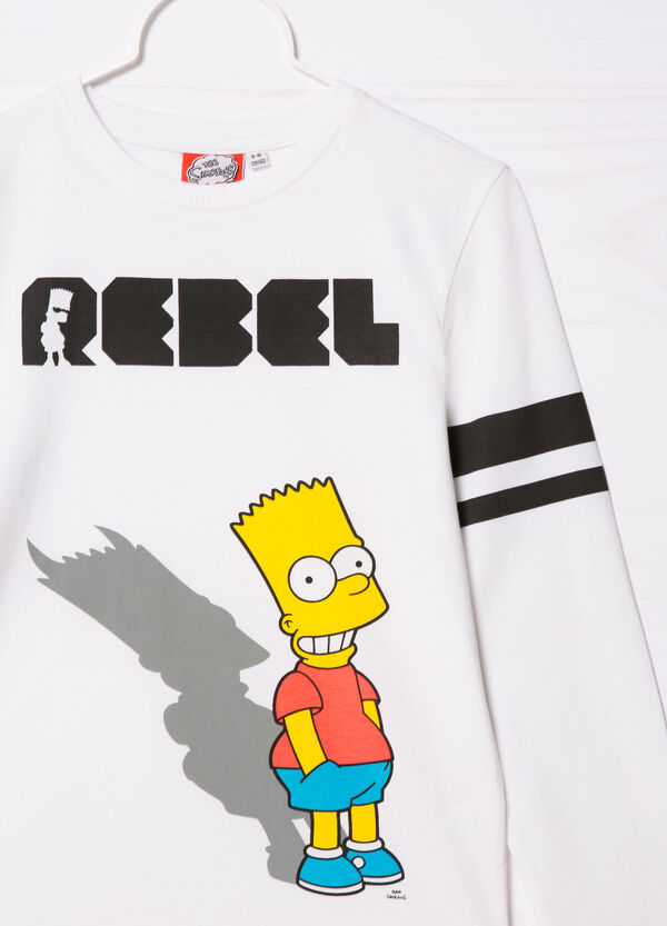 The Simpsons printed cotton T-shirt | OVS
