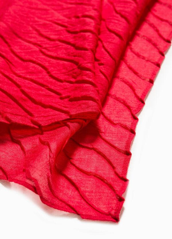 Bufanda con efecto ondulado | OVS