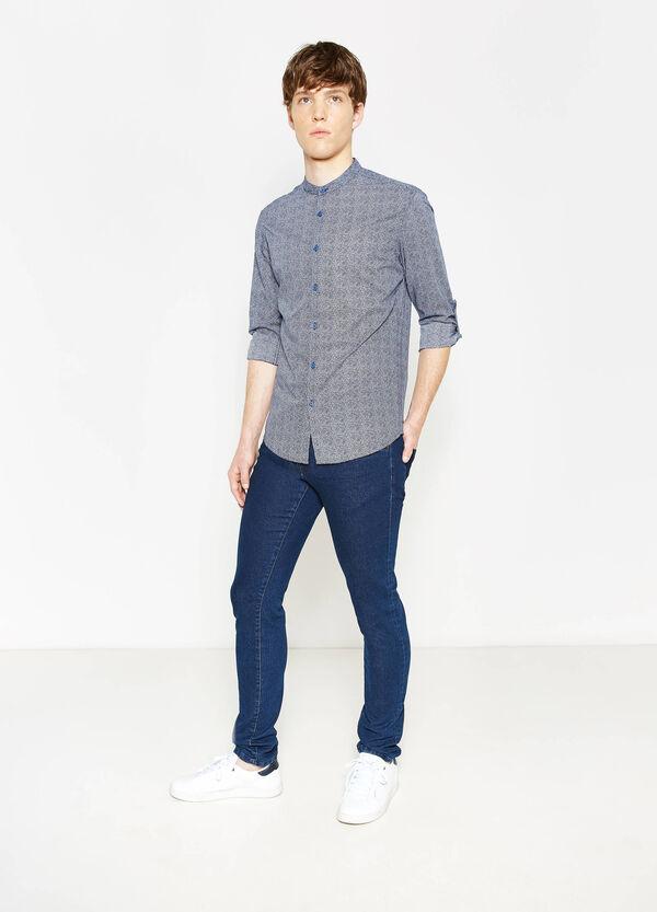 Camicia casual slim fit stampata | OVS