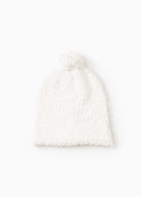 Beanie cap with pompom | OVS