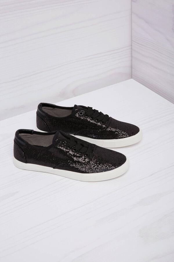 Sneaker basse glitterate | OVS