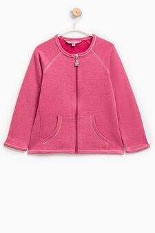 100% cotton sweatshirt with raglan sleeves, Light Purple, hi-res