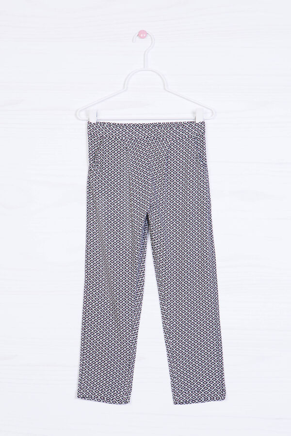 Viscose loose-fit trousers in viscose | OVS