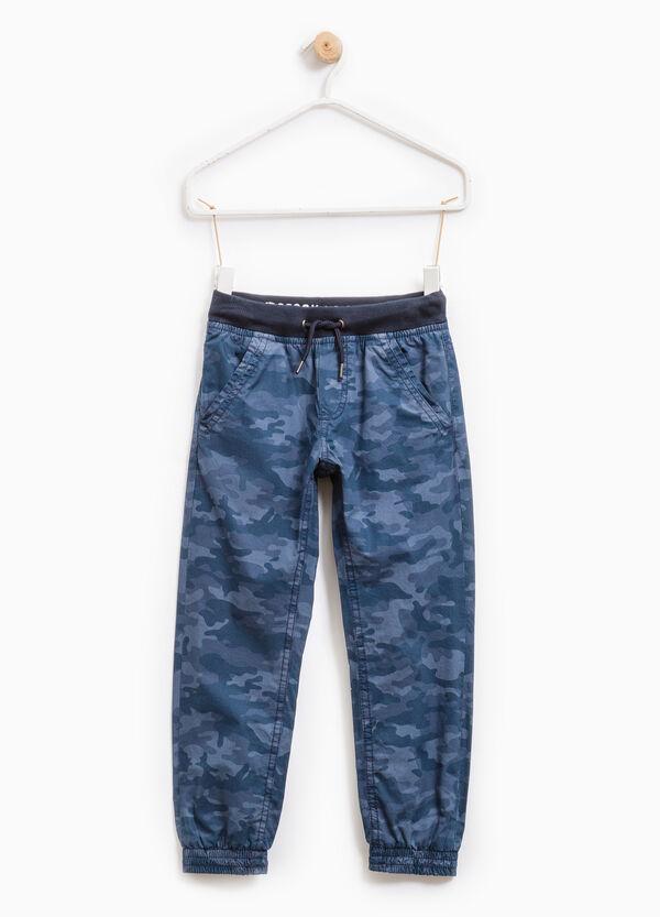 Pantaloni puro cotone camouflage | OVS