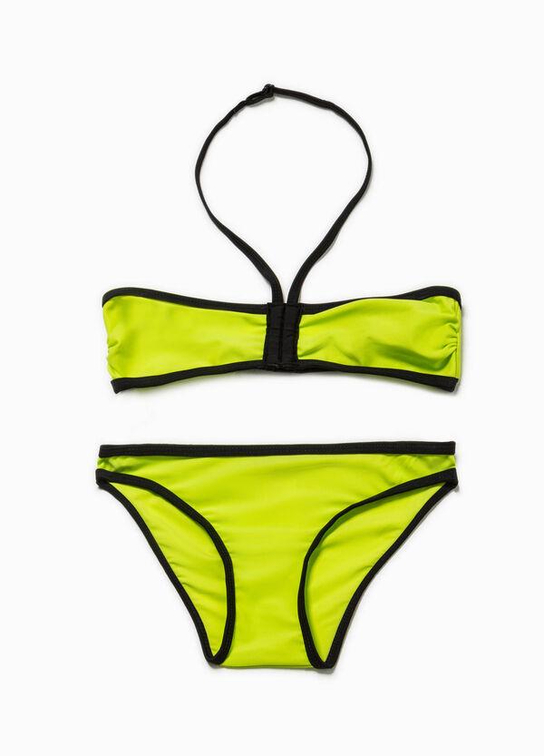 Bikini fascia e slip elasticati | OVS