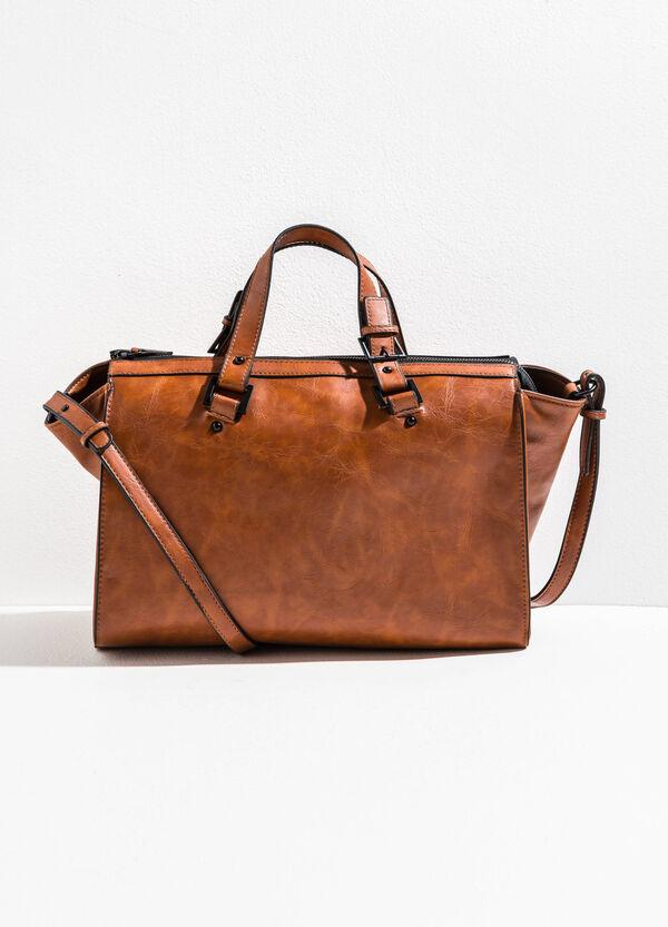 Shoulder bag with mis-dyed effect | OVS